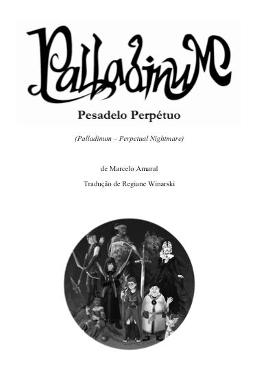 Trecho de Palladinum - (Capítulo 22) em inglês