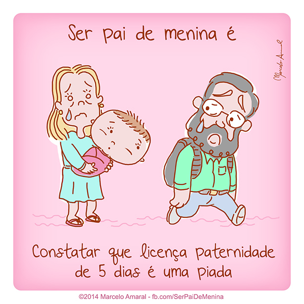 Ser Pai de Menina #7