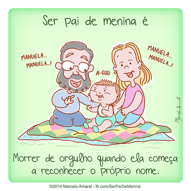 Ser Pai de Menina #40
